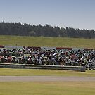 Sea of Bikes by Nigel Bangert
