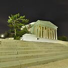 Jefferson Memorial in Washington DC by InvisibleClown