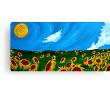 Second in a Series: Vincent in the Field Canvas Print