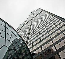 Willis Tower reaching for the sky by derejeb