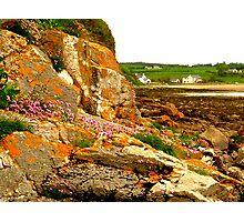 Rocky Shoreline Photographic Print