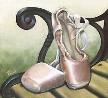 Ballet shoes by tanyabond