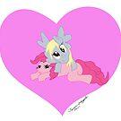 My Little Derpy with Pinkie Pie by kittenofdeath