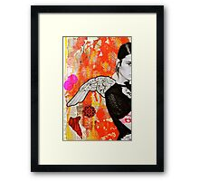Portrait of A Spanish Angel Framed Print