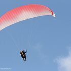 Paragliding 004 by Karl David Hill