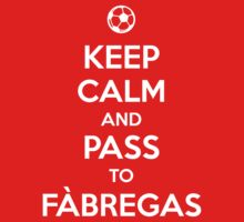 Keep Calm and Pass to Fabregas by aizo