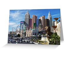 New York Casino Greeting Card
