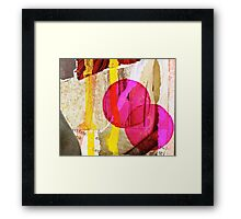 Fate Keeps Following Me Framed Print