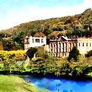 Chatsworth House, Peak District, Derbyshire by Dennis Melling