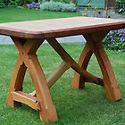 CROFT HOUSE FURNITURE ARTISAN STEVE MALLENDER - CRUICK TABLE NO:1  by Tuartkatz