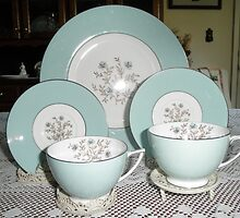 China Tea cups And Plates by ack1128
