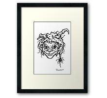 """""""little devil"""" Framed Print"""