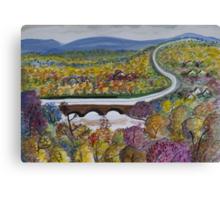 Free Bridge Fall Canvas Print