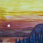 Sara's Sunset by lorikonkle