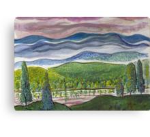 July Sunrise Canvas Print