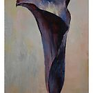 Black Calla Lily by Michael Creese