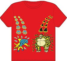 Threadless tee shirt  design by 1michaelflores1
