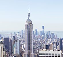 New York City Panorana by Paul Thompson Photography