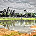 Angkor Wat, Cambodia. by Karl Willson