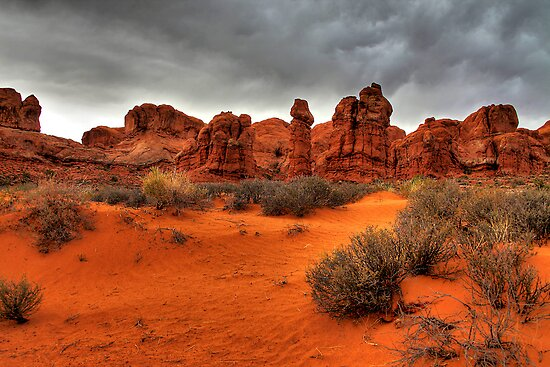 Arches National Park approach to Devils Garden Trailhead by Eros Fiacconi (Sooboy)