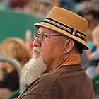 Beard, Hat and an Earring by Buckwhite