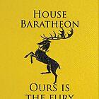 House Baratheon iPhone Case by Alexandra Grant