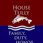 House Tully iPhone Case by alexandramarieg