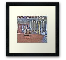 Vat to Barrel I Framed Print