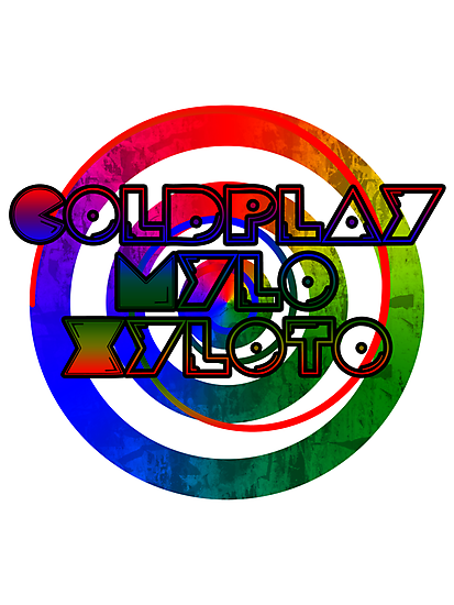 Coldplay - Mylo Xyloto (Color) by Maxdoggy