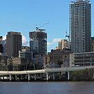 Brisbane from Southbank (P-i) by Ali Choudhry