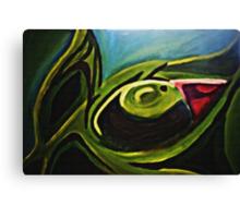 Green Iris Canvas Print