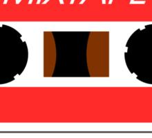 Mixtape Cassette Tape by Chillee Wilson Sticker