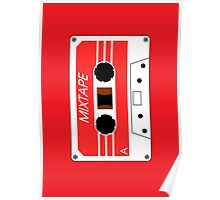 Mixtape Cassette Tape by Chillee Wilson Poster