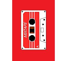 Mixtape Cassette Tape by Chillee Wilson Photographic Print
