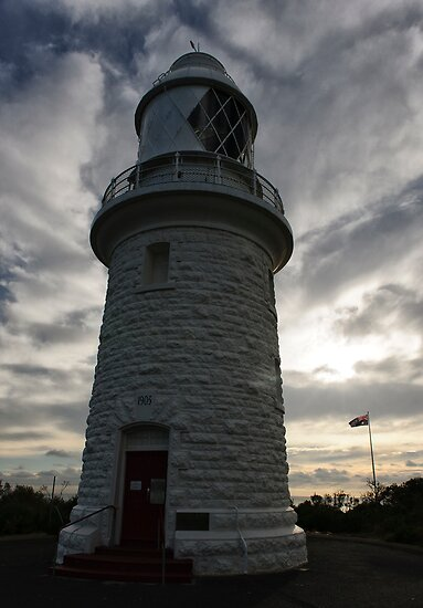 Cape Naturaliste Lighthouse by Leah Kennedy