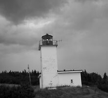 West Quaco Lighthouse by Lisa Carroll
