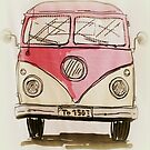 VW camper van by ©The Creative  Minds