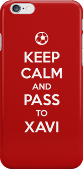 Keep Calm and Pass to Xavi by aizo