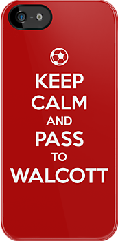 Keep Calm and Pass to Walcott by aizo