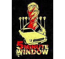 5 minute window Photographic Print