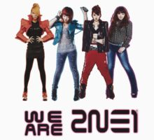 2NE1- We are 2NE1 by Margybear