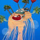 Jellyfish Island by IsaacG