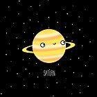 Saturn by Sarah Crosby