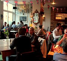 The Fire Stable Pub, Wimbledon - Jubilee Weekend by rsangsterkelly