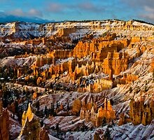 Sunlights First Touch - Bryce Canyon National Park, Utah by Jason Heritage