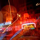 Moulin Rouge in Paris. by GreyCard