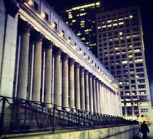 Main Post Office at Night -  New York City by SylviaS
