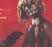 Weird Tales Magazine Sticker
