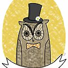 Mr. Owl by nearsightedowl