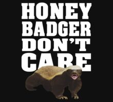 Honey badger don't care by nadil